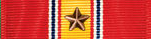 national defense service ribbon with one star