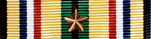 Southwest Asia Service Ribbon with Bronze Star